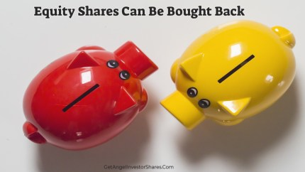 Equity Shares Can Be Bought Back
