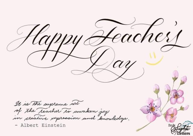Happy World Teacher's Day! We appreciate the mentors in our lives who have molded us to become better individuals! Thank you dear teacher!