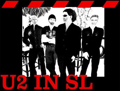 U2 in SL - logo