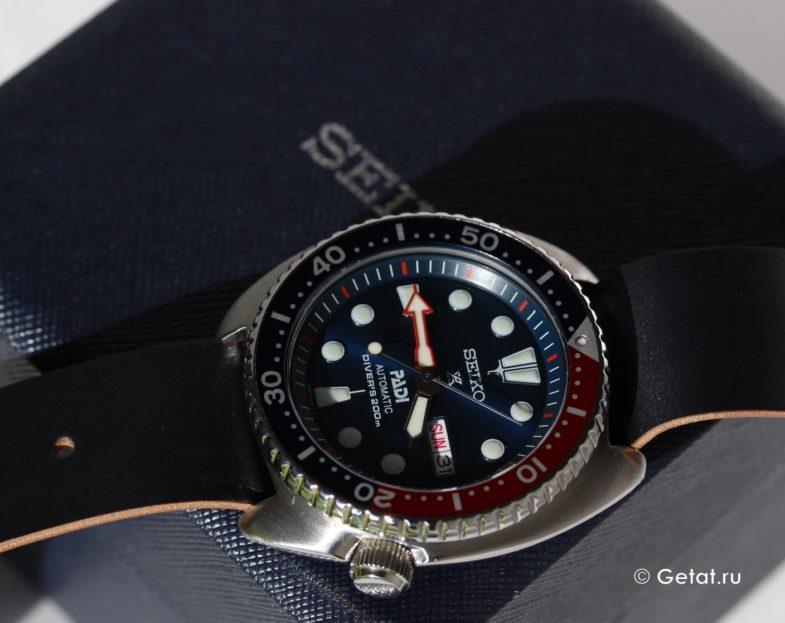 обзор Seiko Prospex Special Edition PADI SRPA21
