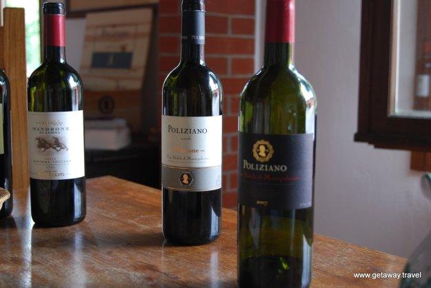 Poliziano Winery Montepulciano Italy