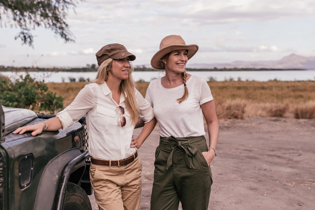 Becky van Dijk and Vanessa Rivers - Founders Travel Girls Getaways dfac7f8233420