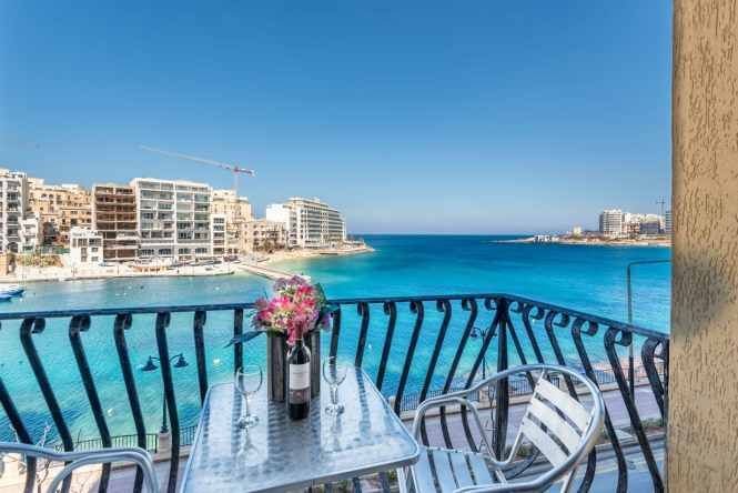 Spinola Bay Seafront Self Catering Holiday Apartments In St Julian S Near Paceville 62 Morina Court George Borg Olivier Street Malta