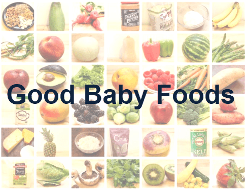 good baby foods