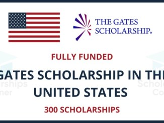 The Gates Scholarship 2022