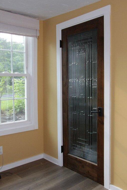Cool white bedroom door #interiordoordesign #woodendoordesign