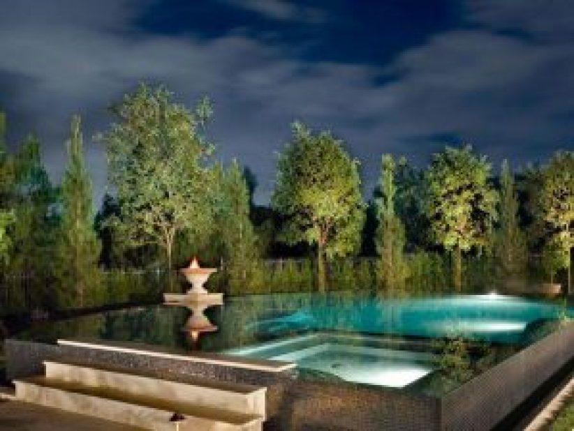 Lovely popular swimming pool designs #swimmingpooldesign #pooldeckandpatiodesigns #smallbackyardpools