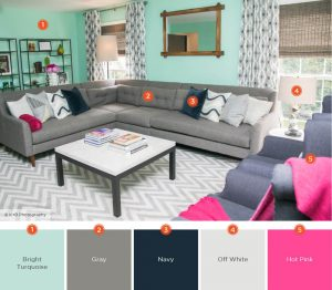 Colorful Modern Living Room Ideas #livingroomcolorschemes  #livingroomcolorcombination