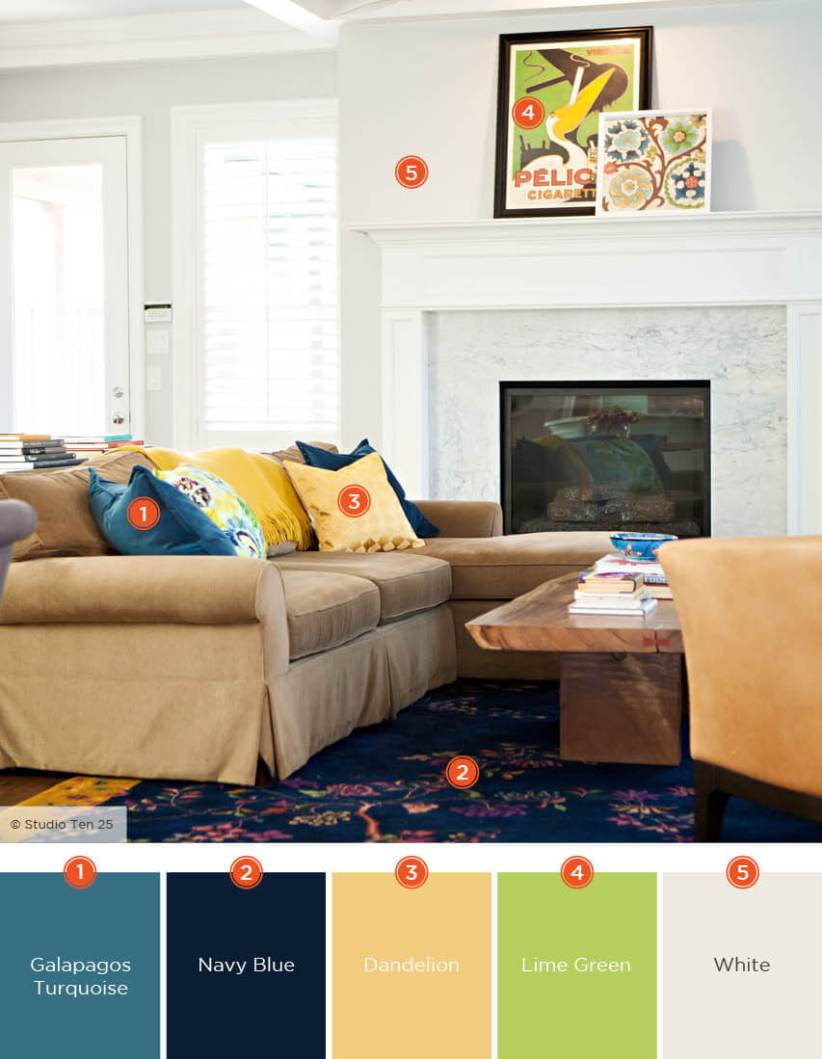 Popular living room color schemes gray #livingroomcolorschemes #livingroomcolorcombination
