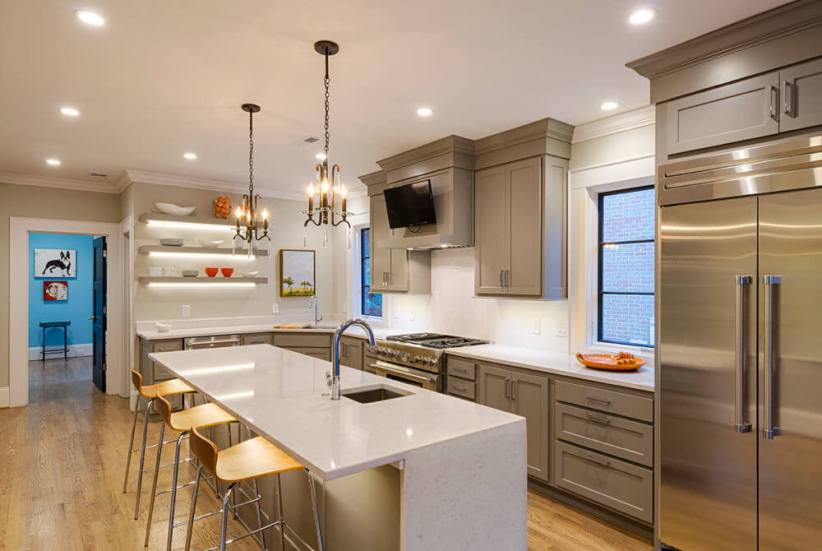 Colorful country kitchen lighting ideas pictures #kitchenlightingideas #kitchencabinetlighting