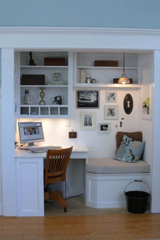 Wonderful home office design small space #homeofficedesign #homeofficeideas #officedesignideas