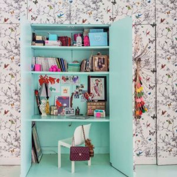 Beautiful home office built ins #homeofficedesign #homeofficeideas #officedesignideas