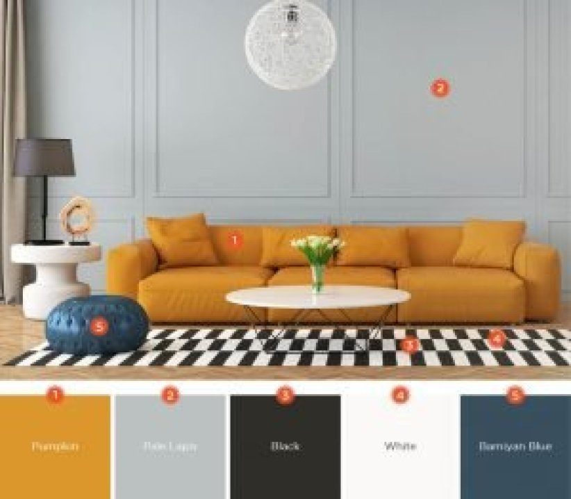 Trending living room color schemes with brown leather furniture #livingroomcolorschemes #livingroomcolorcombination