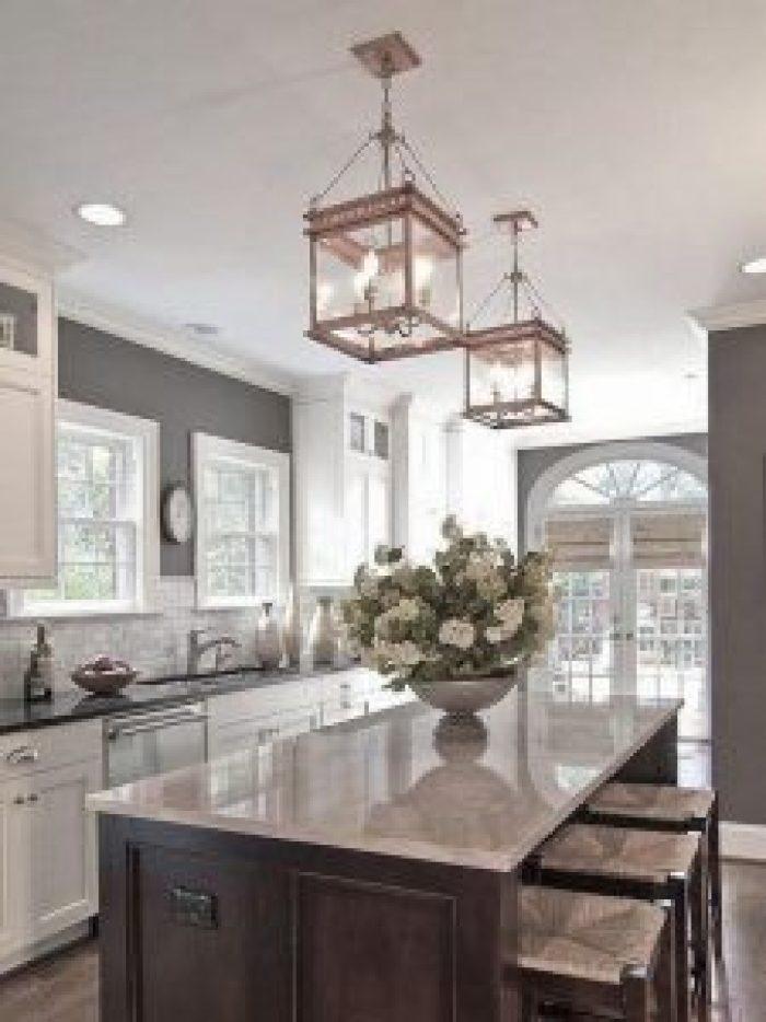 Popular small kitchen lighting #kitchenlightingideas #kitchencabinetlighting
