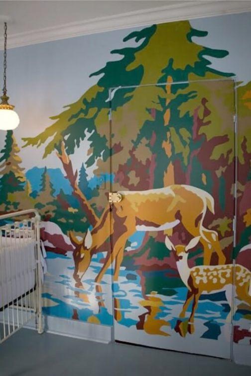 Wonderful wall art ideas for bedroom #wallpaintingideas #wallartpaintingideas