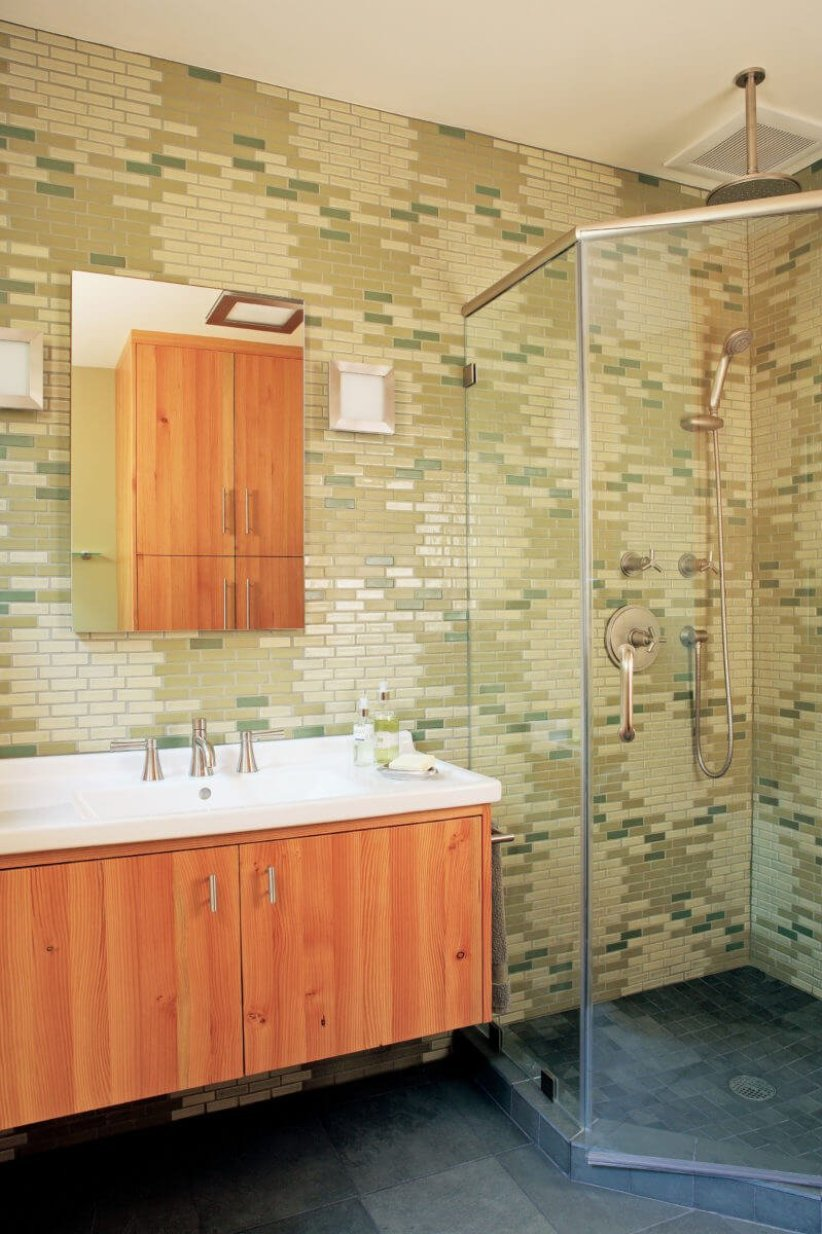 Nice bathroom floor tile design ideas #bathroomtileideas #bathroomtileremodel