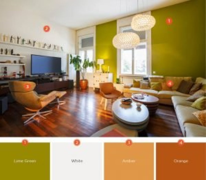 Cool wall paintings for living room #livingroomcolorschemes #livingroomcolorcombination