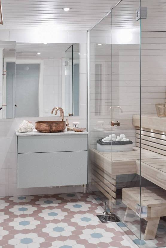 Amazing bathroom shower tile ideas on a budget #bathroomtileideas #bathroomtileremodel