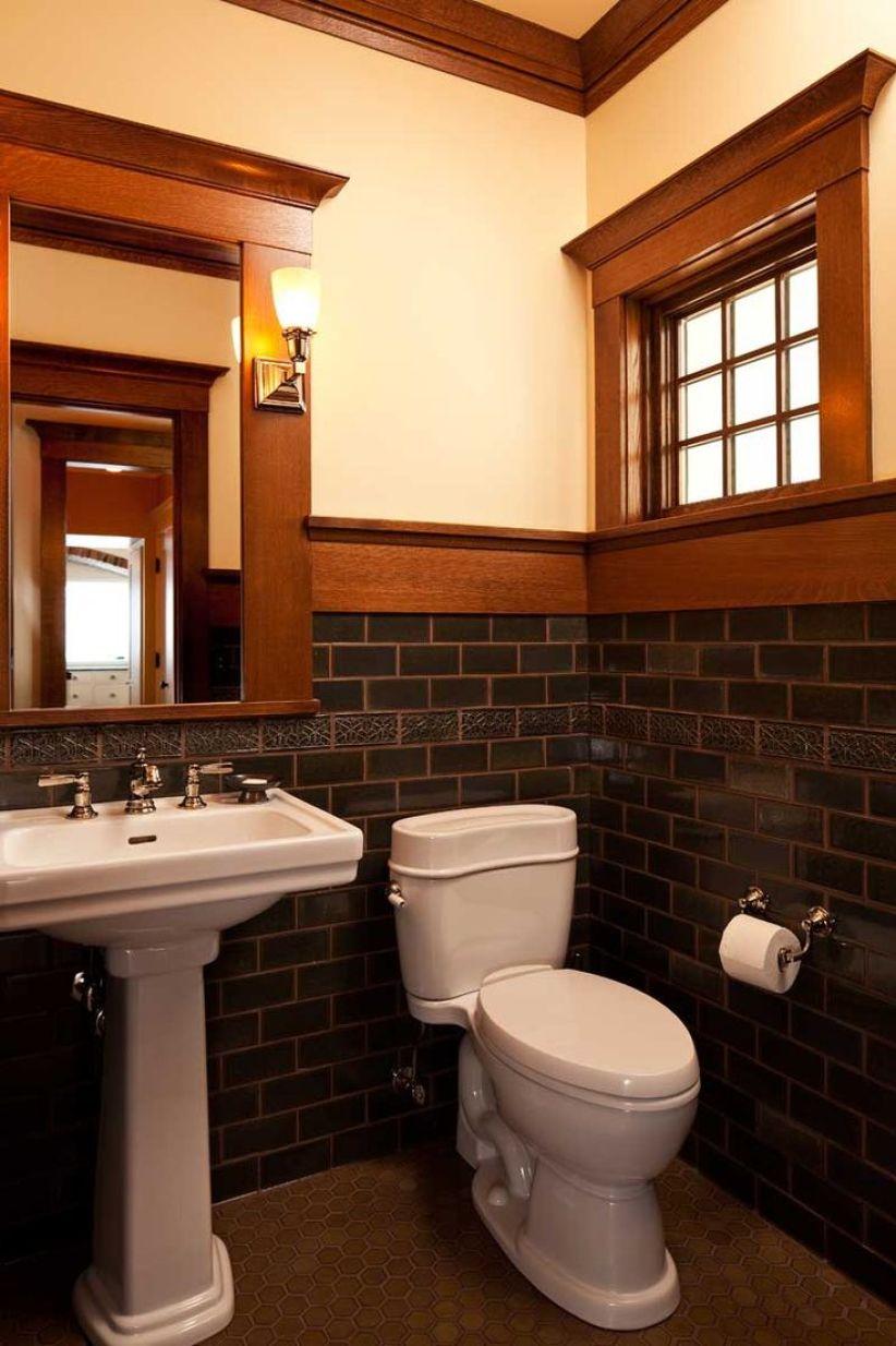 Trending cabin bathroom design #halfbathroomideas #smallbathroomideas #bathroomdesignideas
