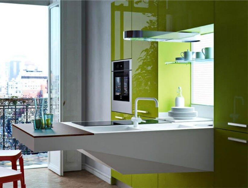 Awesome small kitchen design #kitcheninteriordesign #kitchendesigntrends
