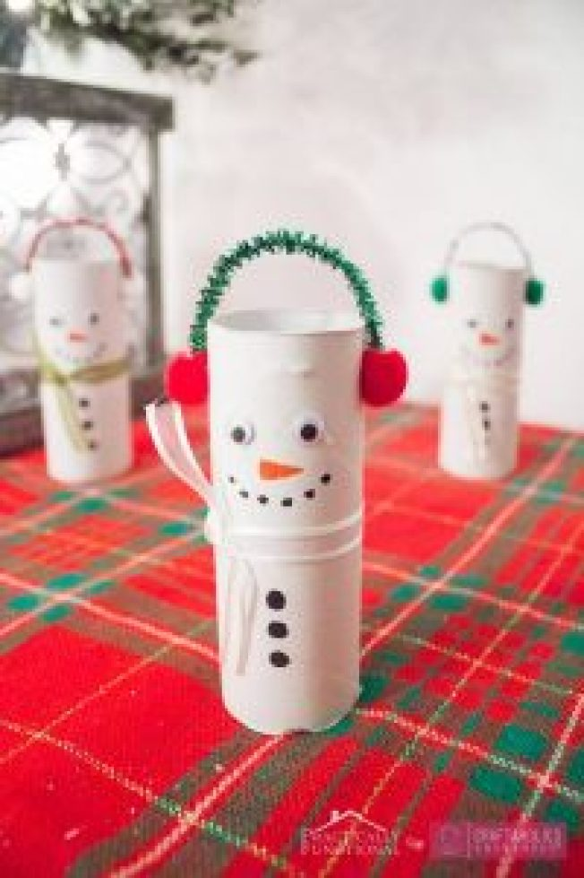 Great craft ideas using paper #toiletpaperrollcrafts #diytoiletpaperroll #toiletpaper