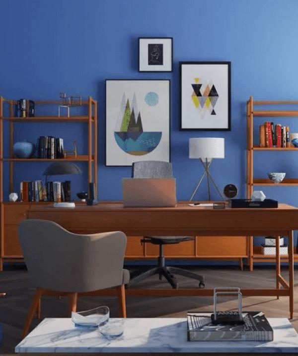 Popular small office decor #homeofficedesign #homeofficeideas #officedesignideas