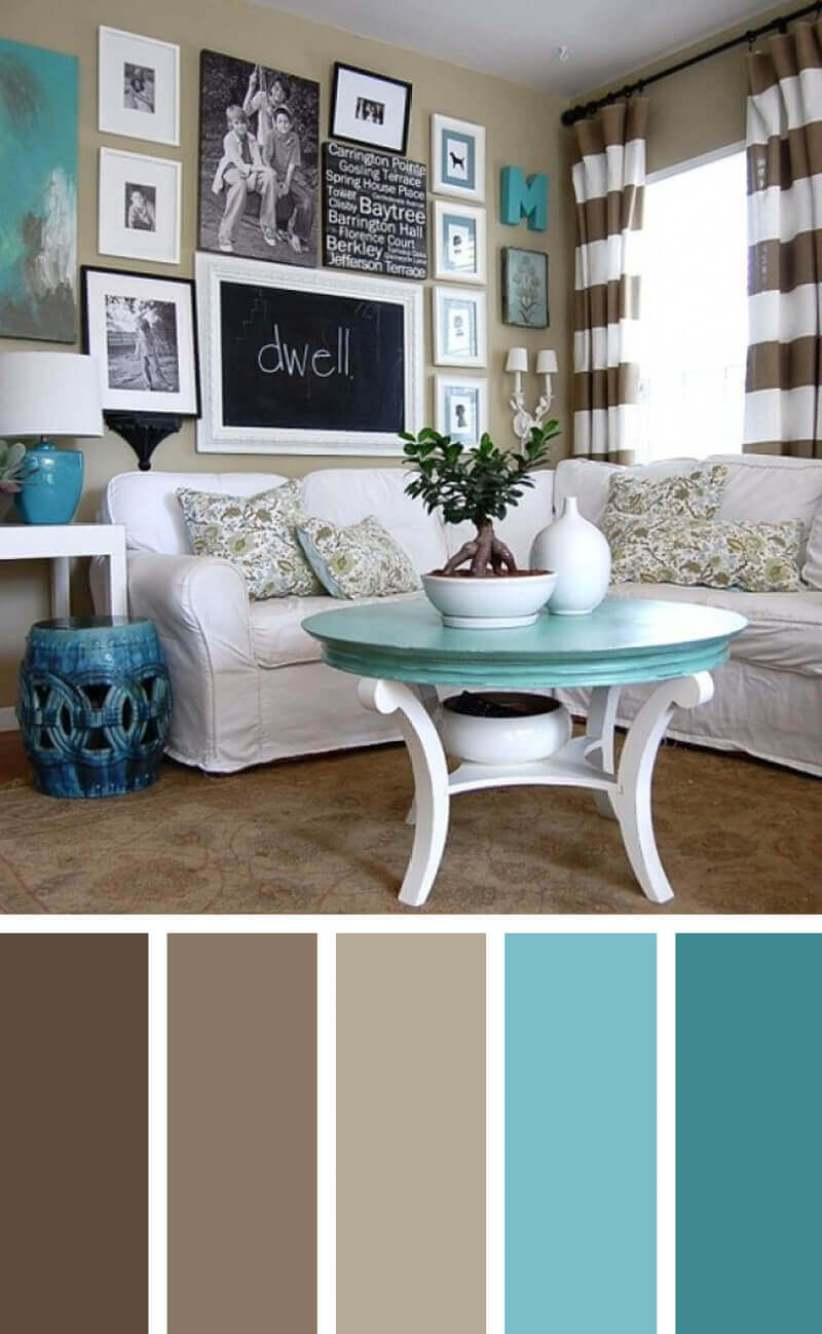 Popular living room color schemes with gray #livingroomcolorschemes #livingroomcolorcombination