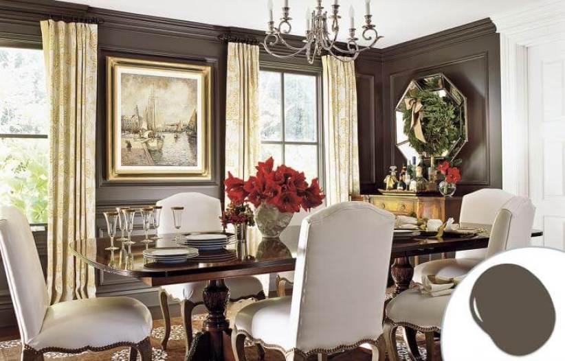 Trending dining room wall decor #diningroompaintcolors #diningroompaintideas