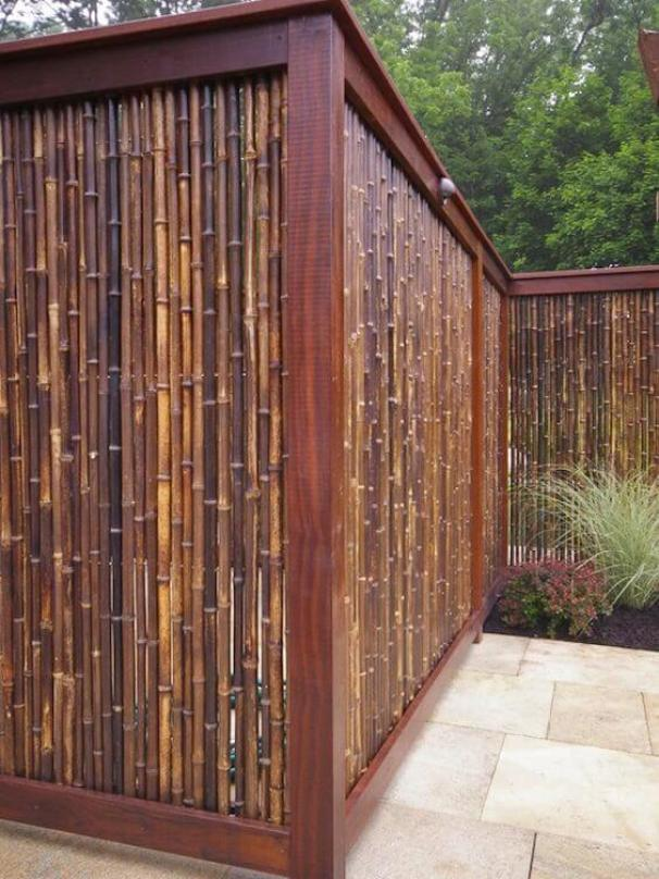 Unbeatable wood fence designs #privacyfenceideas #gardenfence #woodenfenceideas
