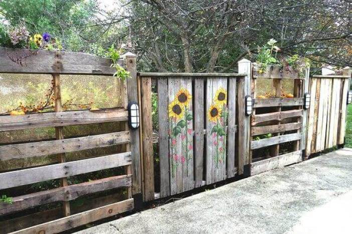Remarkable yard fence ideas #privacyfenceideas #gardenfence #woodenfenceideas