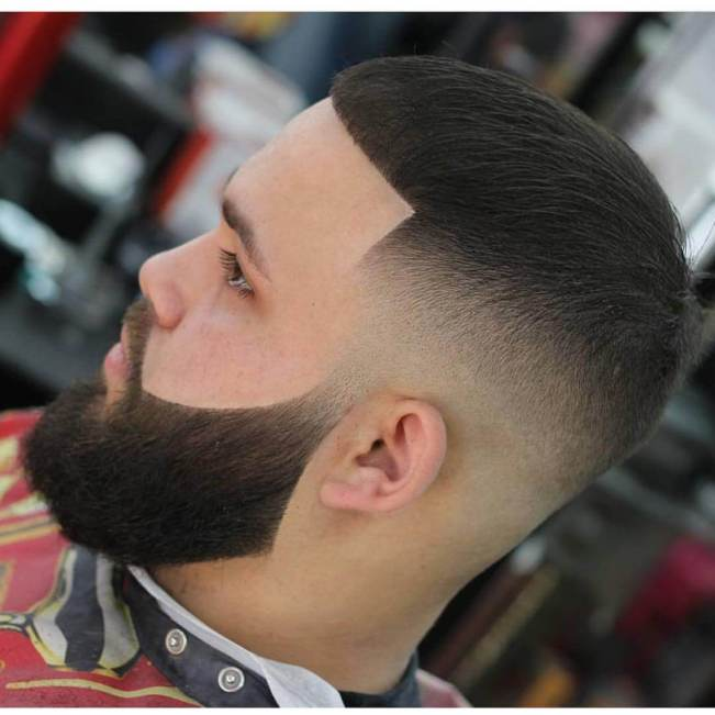 Remarkable short hair long beard #beardstyles #beardstylemen #haircut #menstyle