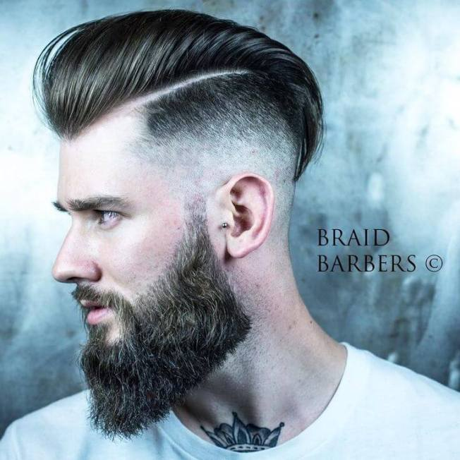 Unforgettable short hair with beard #beardstyles #beardstylemen #haircut #menstyle