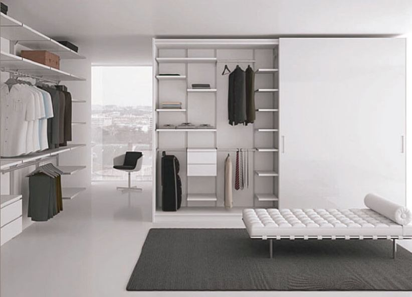 Epic small closet design #walkinclosetdesign #closetorganization #bedroomcloset