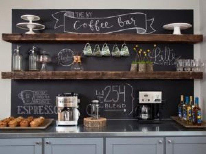 Astonishing coffee cabinet #coffeestationideas #homecoffeestation #coffeebar