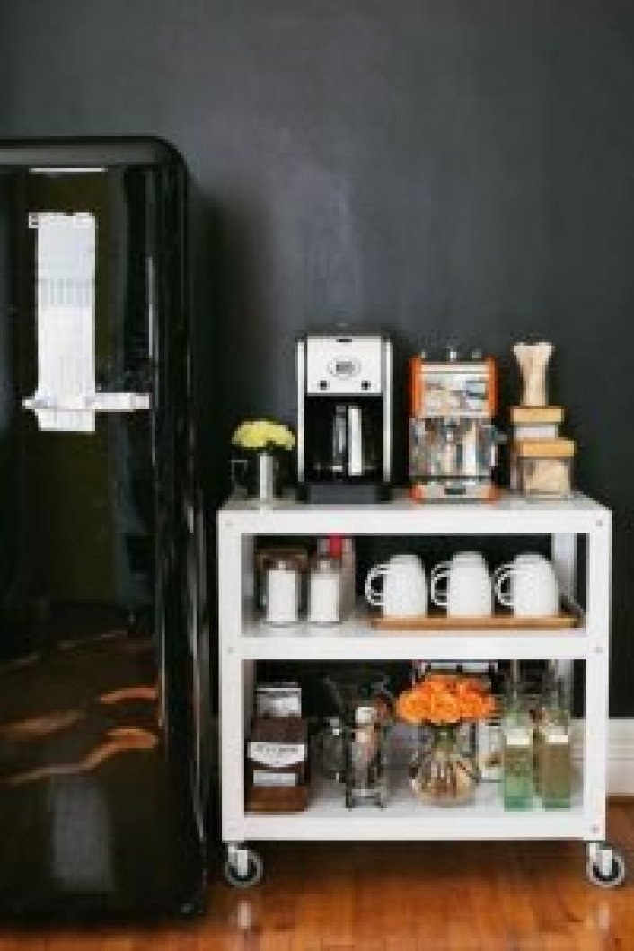 Marvelous coffee bar cabinet #coffeestationideas #homecoffeestation #coffeebar