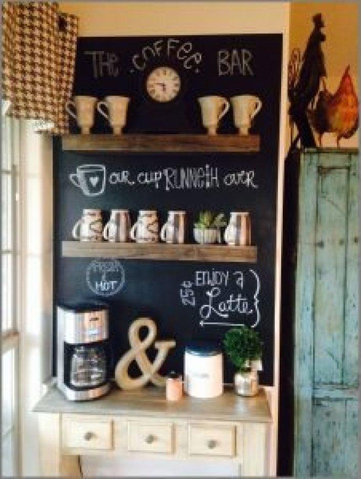 Life-changing dessert table ideas #coffeestationideas #homecoffeestation #coffeebar