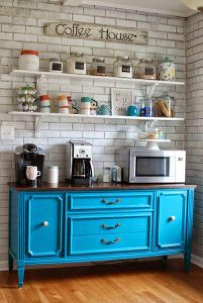 Extraordinary bar ideas #coffeestationideas #homecoffeestation #coffeebar