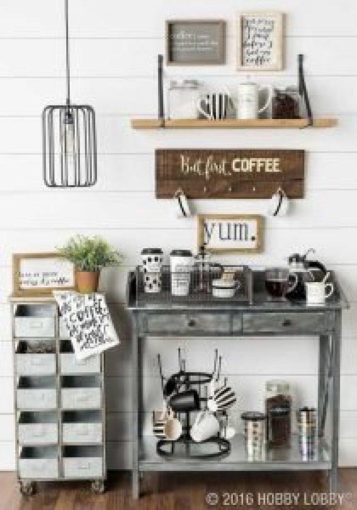 Eye-opening sweet table ideas #coffeestationideas #homecoffeestation #coffeebar