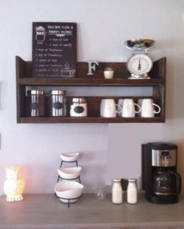 Unleash corner coffee station ideas #coffeestationideas #homecoffeestation #coffeebar