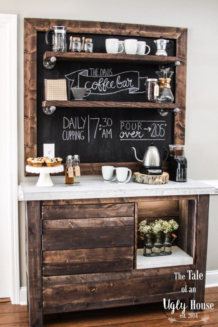 Remarkable home coffee bar #coffeestationideas #homecoffeestation #coffeebar
