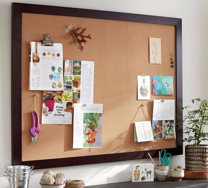 Staggering board designs ideas #corkboardideas #bulletinboardideas #walldecor
