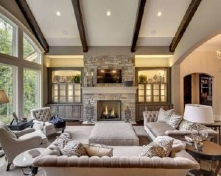 Unique corner fireplace ideas pinterest #cornerfireplaceideas #livingroomfireplace #cornerfireplace