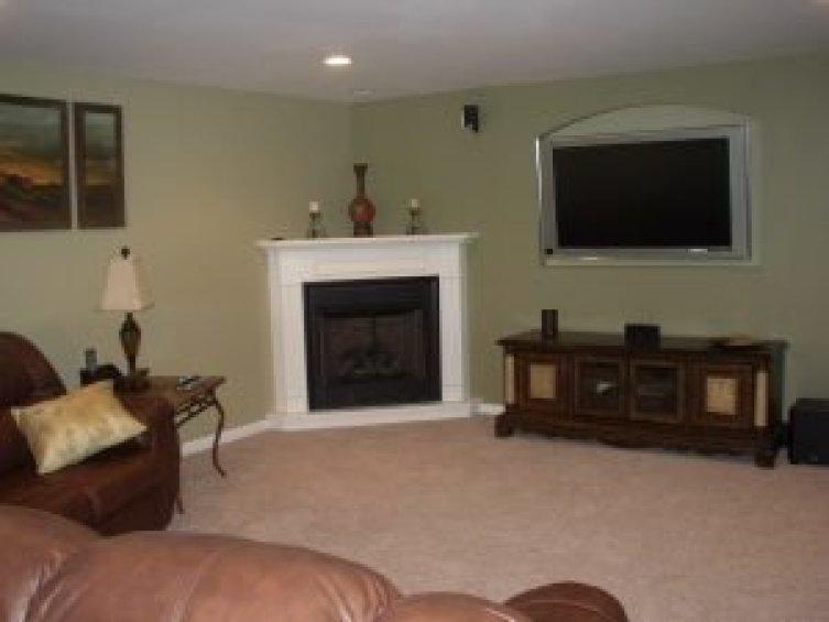 Fantastic fireplace corner ideas #cornerfireplaceideas #livingroomfireplace #cornerfireplace