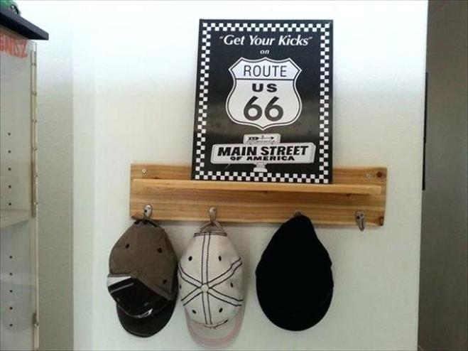 Famous hat storage #diyhatrack #hatrackideas #caprack #hanginghatrack