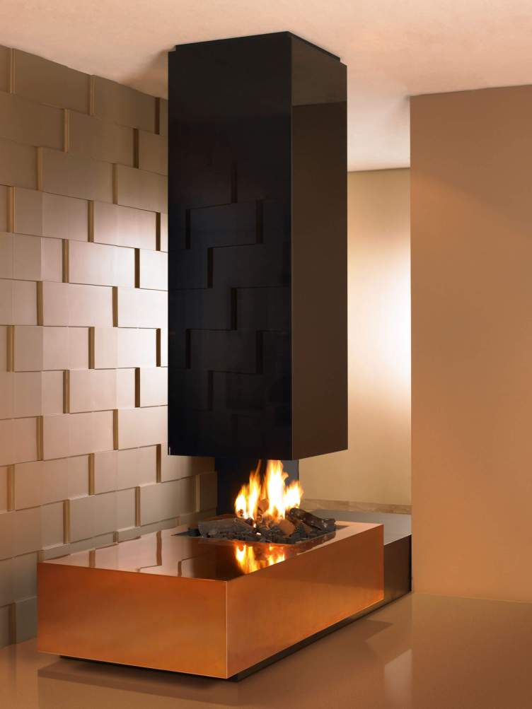Glorious corner fireplace design ideas with stone #cornerfireplaceideas #livingroomfireplace #cornerfireplace
