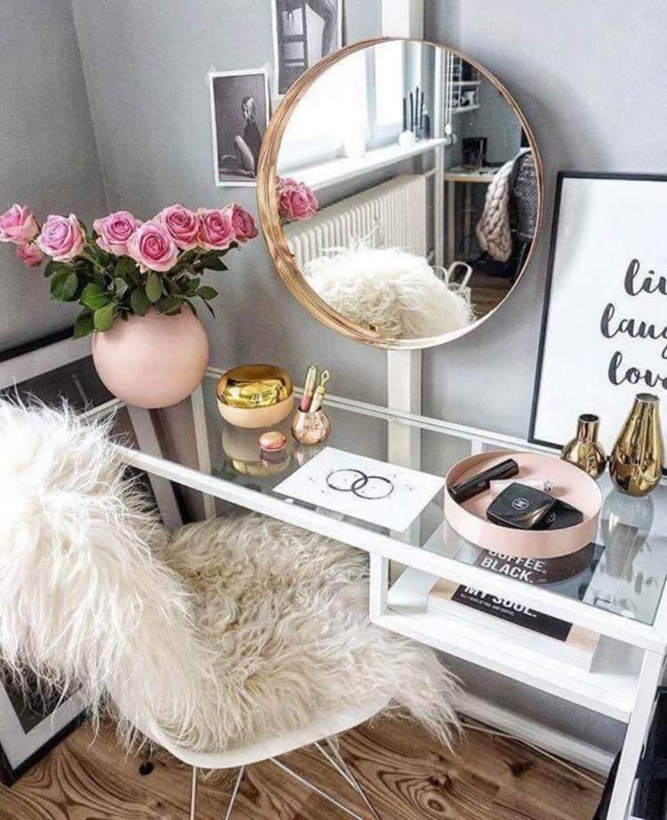 Miraculous makeup table #makeuproomideas #makeupstorageideas #diymakeuporganizer