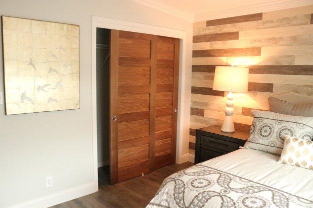 Colorful shaker style interior doors #interiordoordesign #woodendoordesign