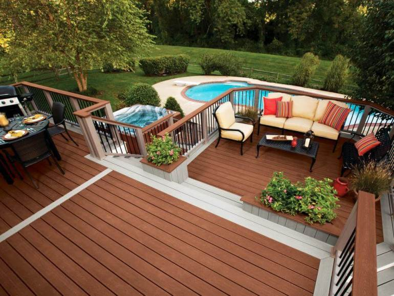 Beautiful swimming pool layouts and designs #swimmingpooldesign #pooldeckandpatiodesigns #smallbackyardpools