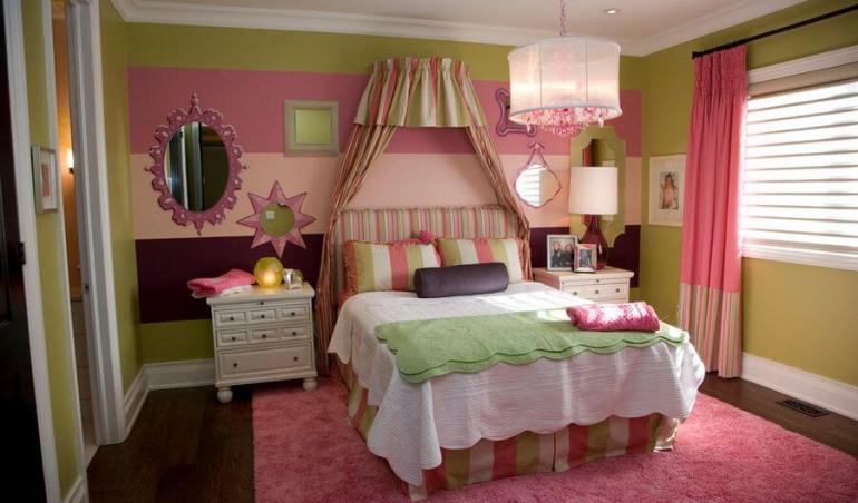 Beautiful toddler girl bedroom ideas #cutebedroomideas #bedroomdesignideas #bedroomdecoratingideas