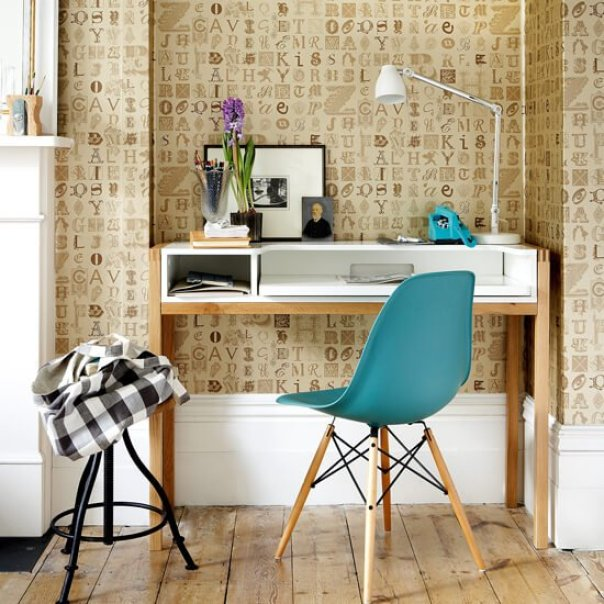 home office wallpaper. Corner Office With Alphabet Wallpaper \u2013 Home Design P